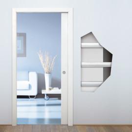 Eclisse Pocket Door - seinän sisälle liukuva liukuovi.